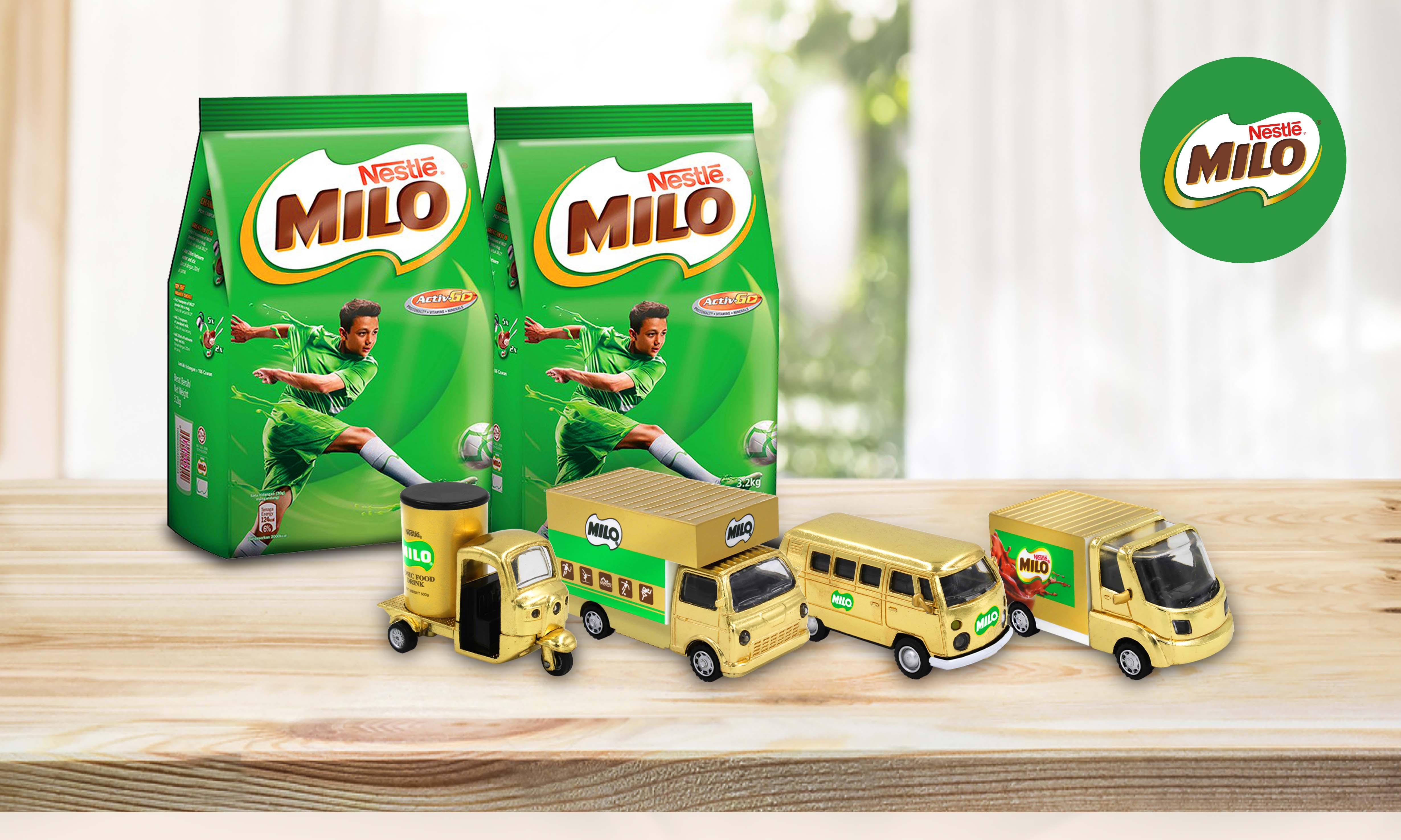 Milo Gold Vans