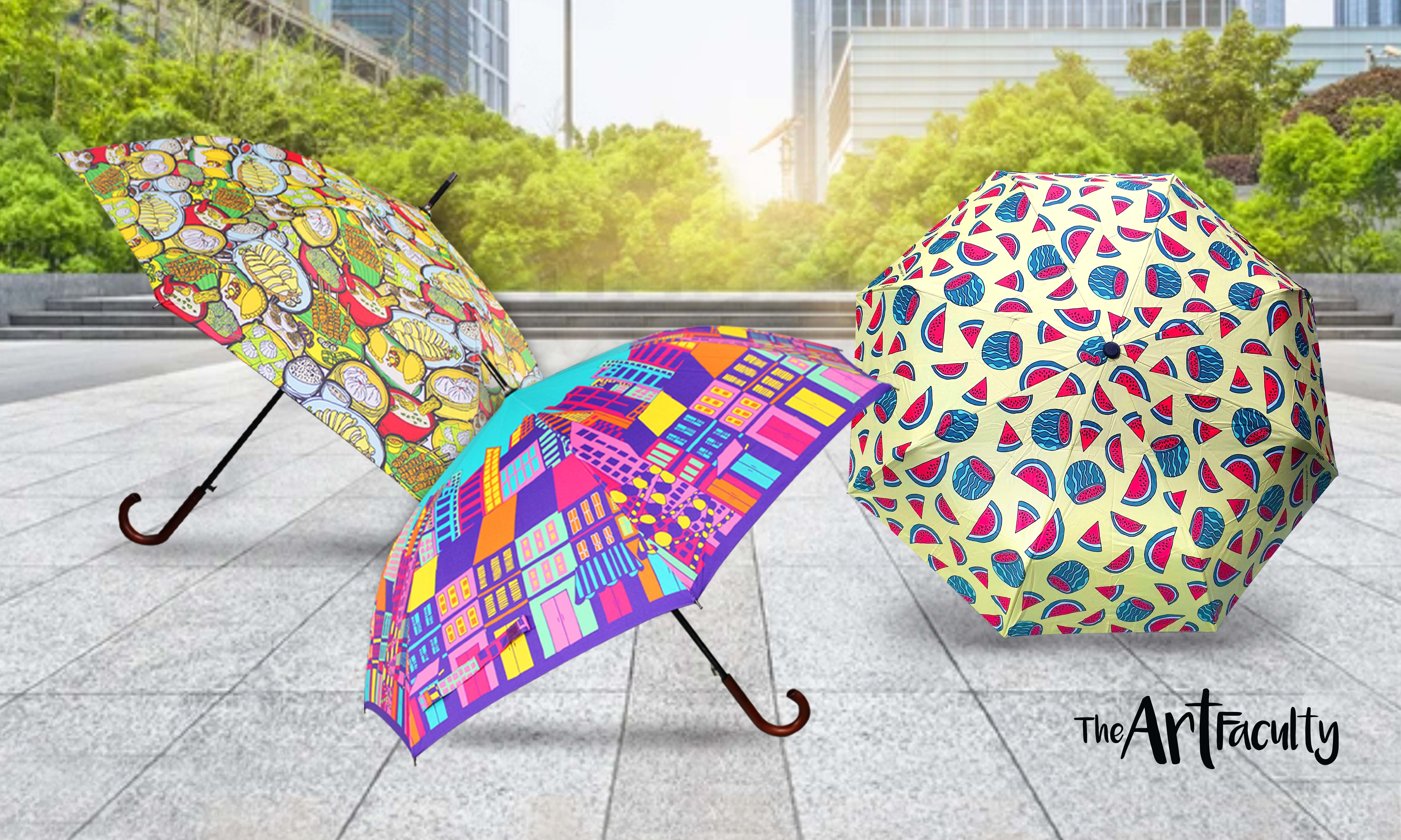 The Art Faculty – Artists Inspired Umbrellas