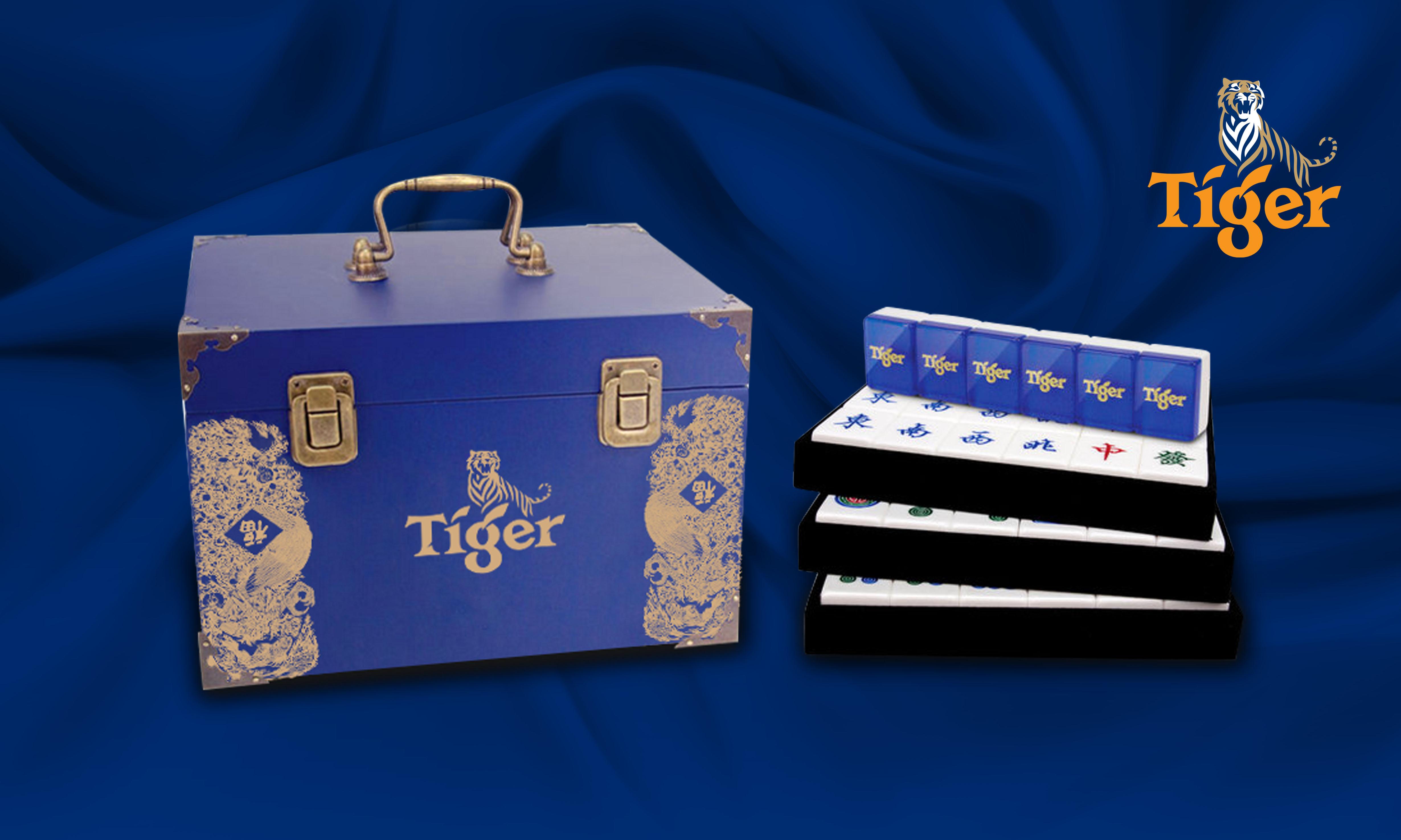 Tiger Mahjong Set